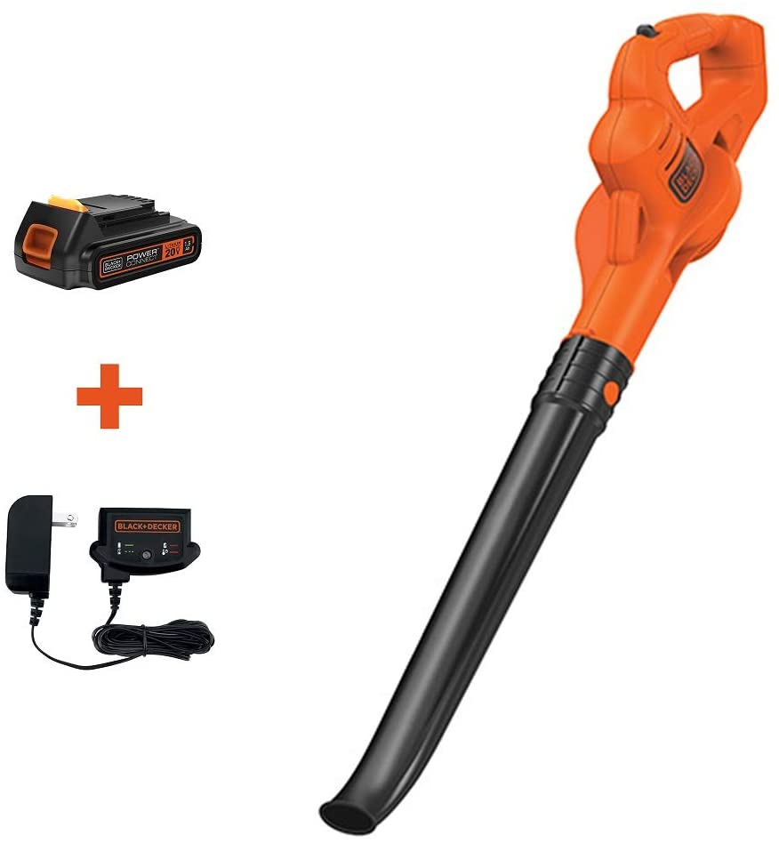 BLACK+DECKER LSW221 20V Max Lithium Sweeper