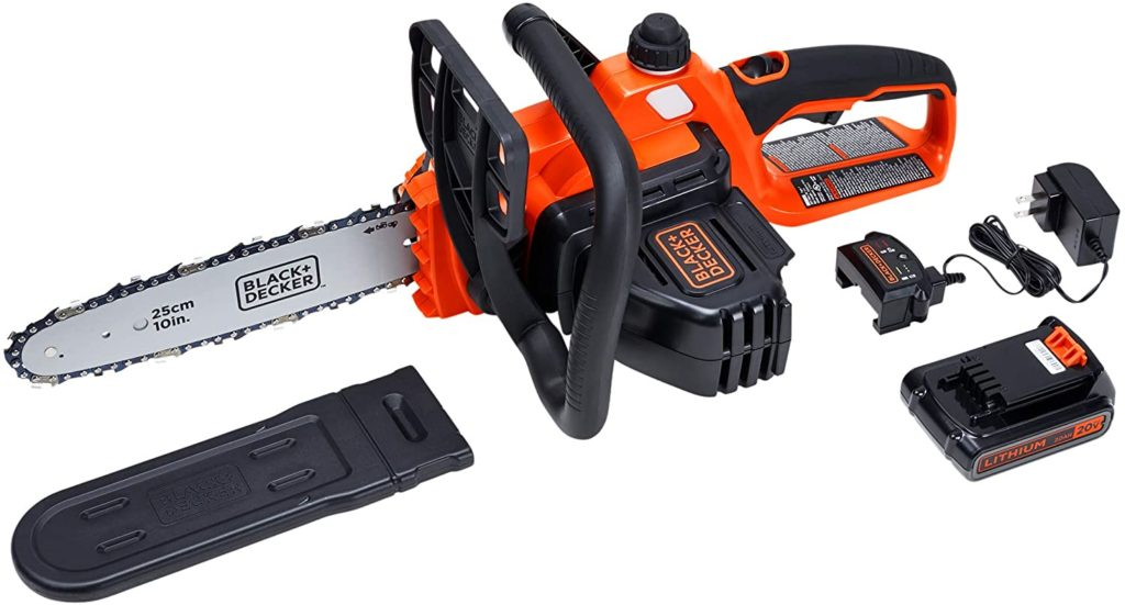 BLACK+DECKER LCS1020 MAX Cordless Chainsaw