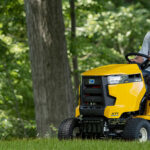 top riding lawn mower
